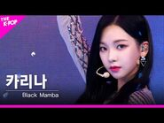 -페이스캠- 에스파(aespa) - Black Mamba 카리나 FOCUS - KOREA-UAE K-POP FESTIVAL