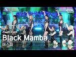 -안방1열 직캠4K- 에스파 'Black Mamba' 풀캠 (aespa Full Cam)│@SBS Inkigayo 2020.11.22.