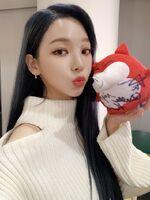 Karina Sohu Weibo 20.11.30 3