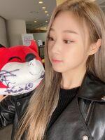 Giselle Sohu Weibo 20.11.30 4