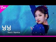 -페이스캠- 에스파(aespa) - Black Mamba 닝닝 FOCUS - KOREA-UAE K-POP FESTIVAL