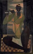 Paritosh-sen-untitled-joueur-de-flute