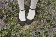 Lavender shoes