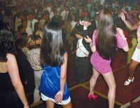 Bodikon girls partying