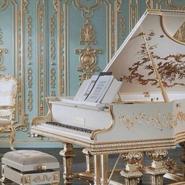 Ornate-white-piano