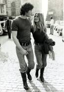Brigitte Bardot and Roger Vadim, 1952