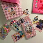 Cute colorful phone cases and stationary