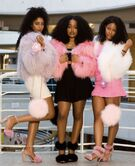 Black girls fur jackets