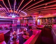 Strip club interior