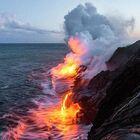 Lava-steam