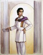 Futuristic ancient roman