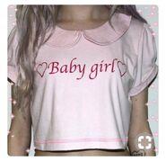 Baby-girl-shirt-pink