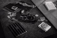 Film noir gun