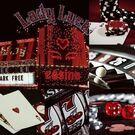 Red casino aesthetic