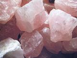 Bubblegum Witch-Rose Quartz Crystals