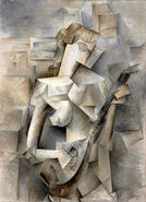 Picasso-girl-mandolin