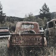 Country pick up truck