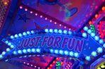 Neon carnival sign
