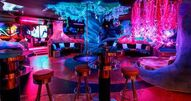 Barcelona Strip club interior