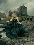 Princess Outside Castle