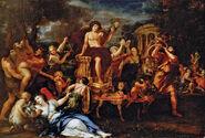 Triumph-Bacchus-oil-canvas-Ciro-Ferri-dionysus