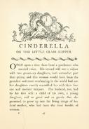 Cinderella book page