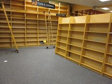Empty-bookstore