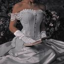 Princess-corset-dress-book-gloves