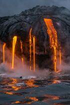 Lava-into-ocean