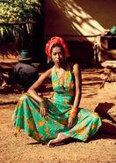 Afro latina turban