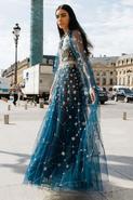 Космос платье 2