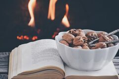 Nuts-bowl-fireplace