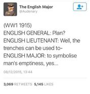 English major 3