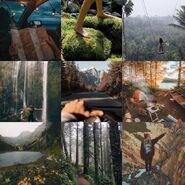 Adventure core aesthetic