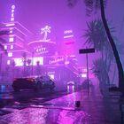 Running In The Night The Superb '80s Cyberpunk Artworks By Daniele Gasparini