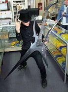 Mall ninja guitar