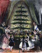 Queen victoria christmas tree