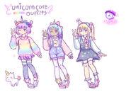 Unicorncore outfits ideas