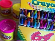 Lots of crayons