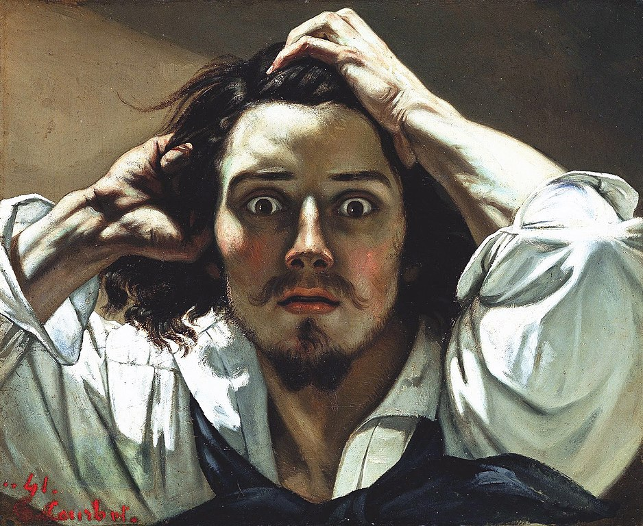Le Desespere by Gustave Courbet. .jpg
