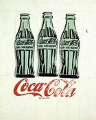 Andy Warhols Three Coke Bottles