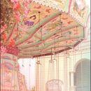 Pastel carnival swings