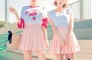 Milk-pink-skirts