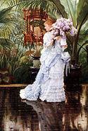 Tissot lilacs 1875