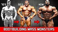 The Evolution of the Mass Monster Bodybuilder