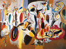 Liver-Comb-oil-canvas-Cock-Arshile-Gorky-1944