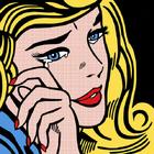 Roy Lichtenstein's Crying Girl