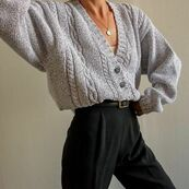Warm cardigan