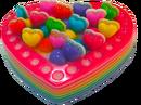Plastic-kidcore-cake