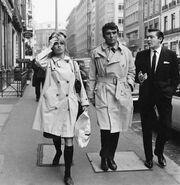 Brigitte barot trench coat